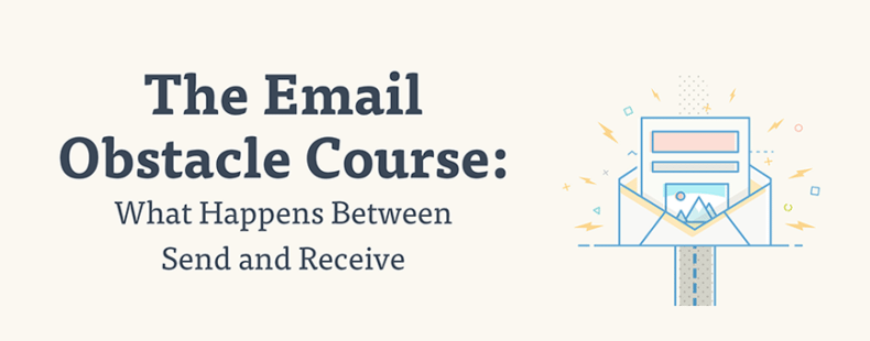 [Infographic] The Email Obstacle Course: What Happens Between Send and Receive