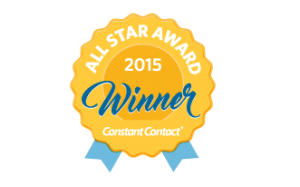 BizzyWeb Receives 2015 Constant Contact All Star Award