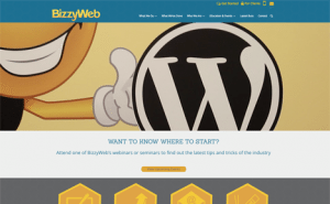 bizzyweb new website