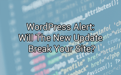 WordPress Alert: Will The New Update Break Your Site?