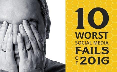 10 Worst Social Media Fails of 2016