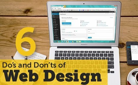6 Do's and Don'ts of Web Design