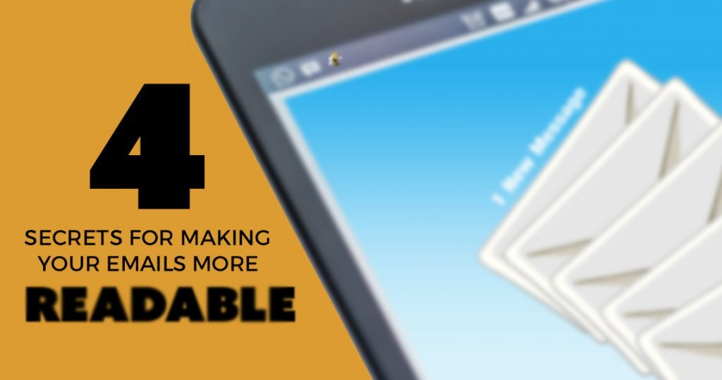 4 Secrets for Making Your Emails More Readable