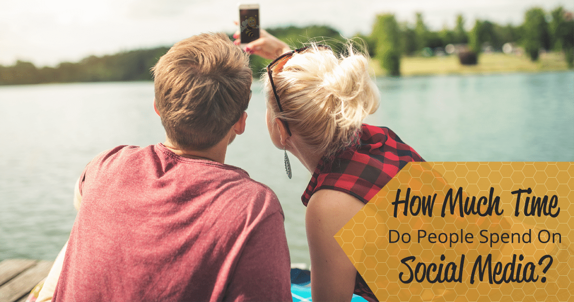 how much time do people spend on social media header image