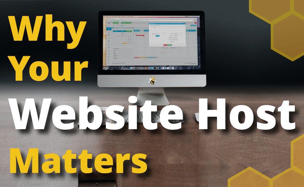 Why Your Website Host Matters [Infographic]