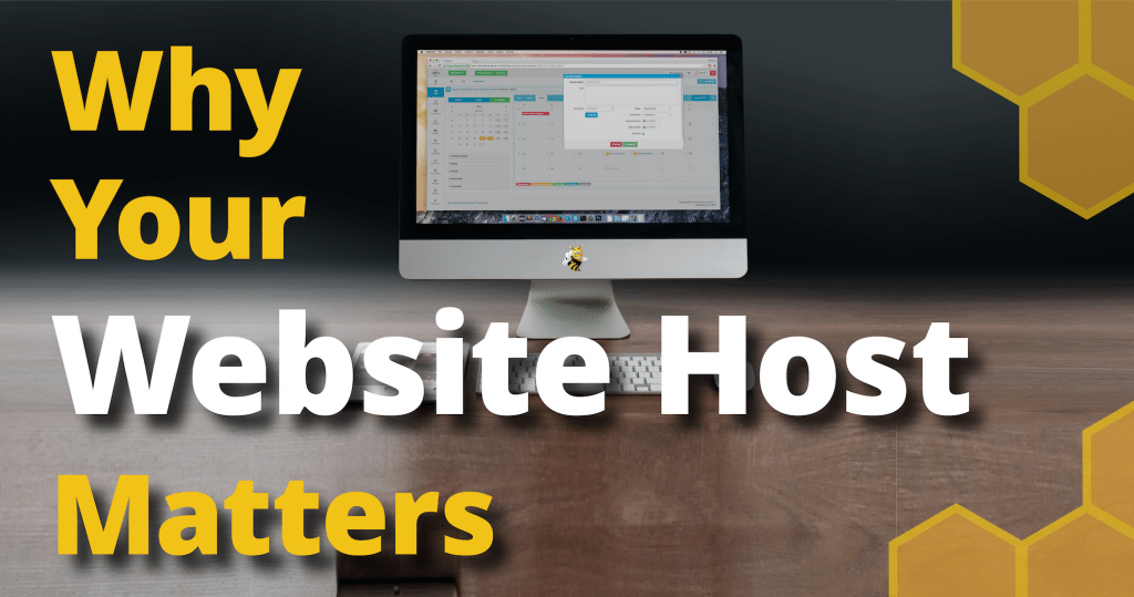 why your website host matters header