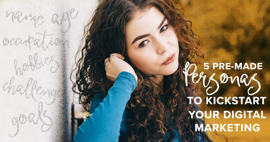 5 Pre-Made Marketing Personas HeaderImage