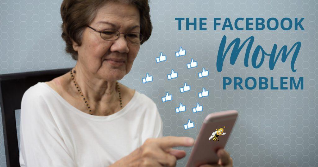 the facebook mom problem header image