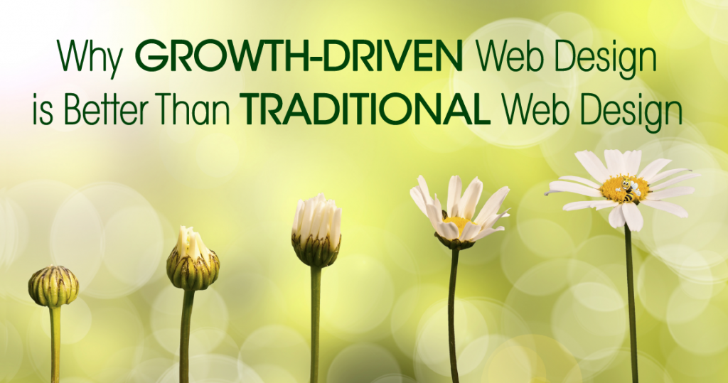 10 Reasons Why Growth-Driven Web Design is Better Than Traditional Web Design header image