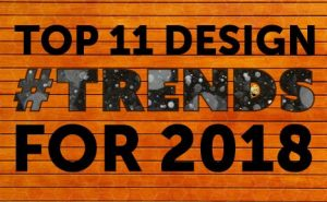 top 11 design trends for 2018 featured image
