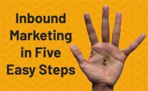 Inbound Marketing in 5 Easy Steps FeaturedImage