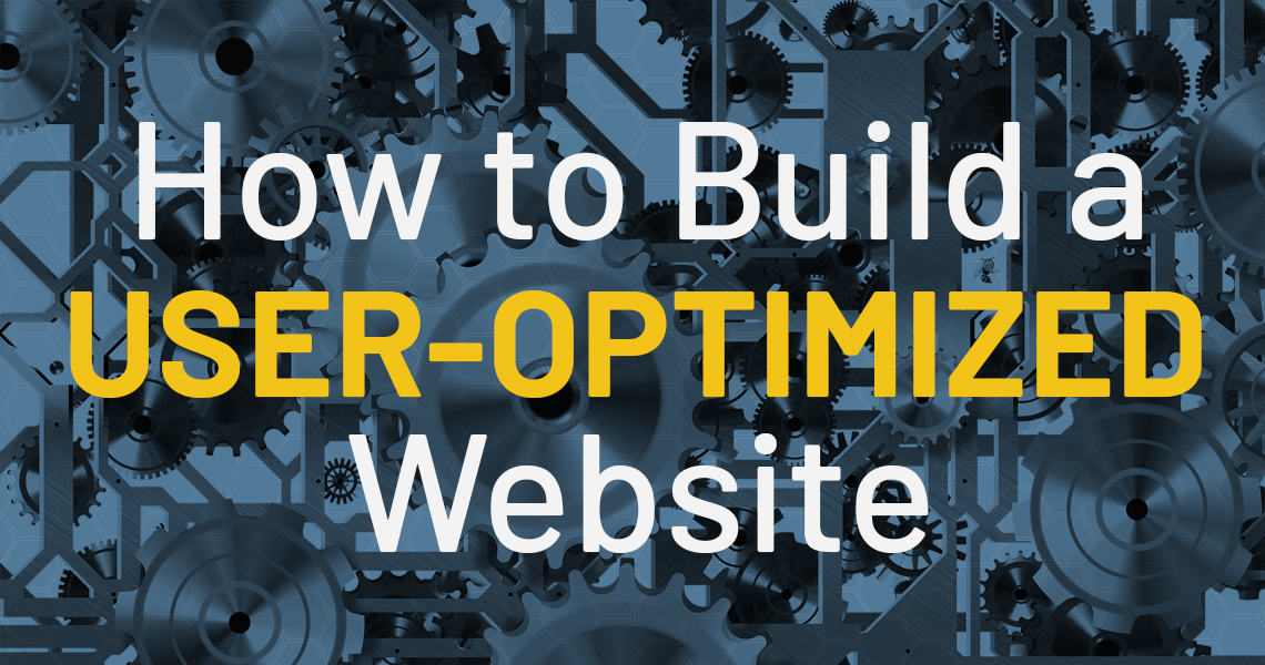 How to Build a User-Optimized Website header image