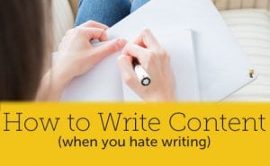 how to write content featured image