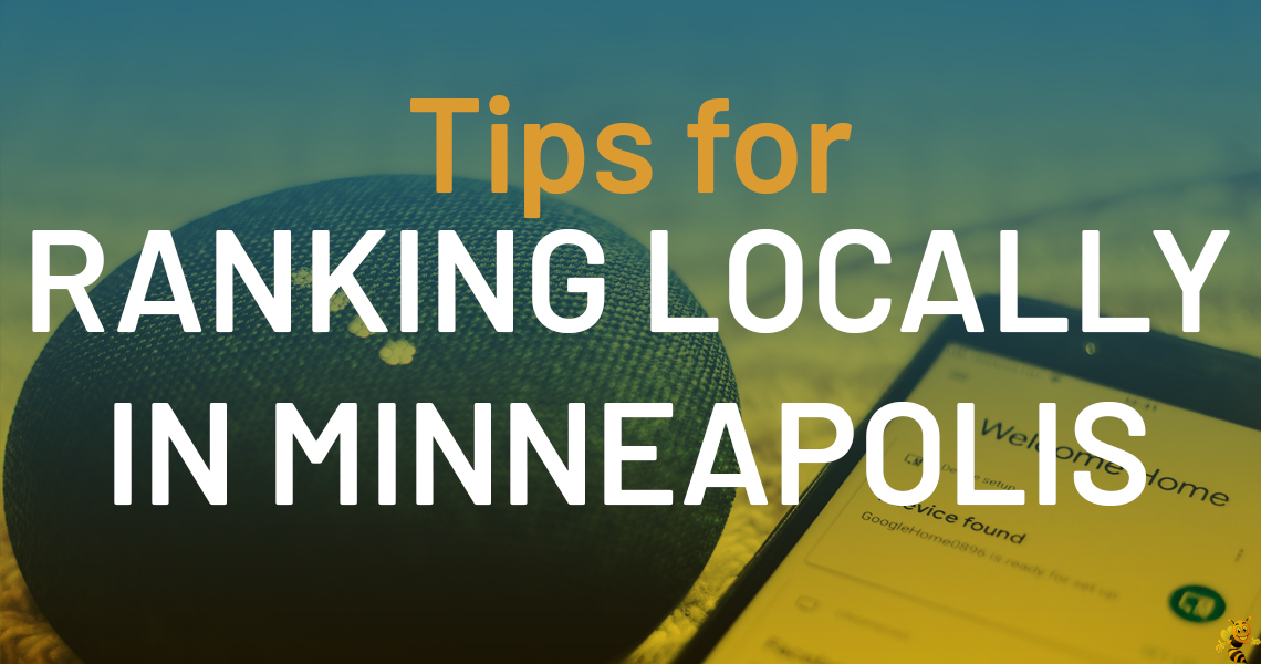 Tips for Ranking Locally in Minneapolis header image