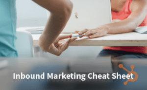 Inbound Marketing Cheat Sheet FeaturedImage