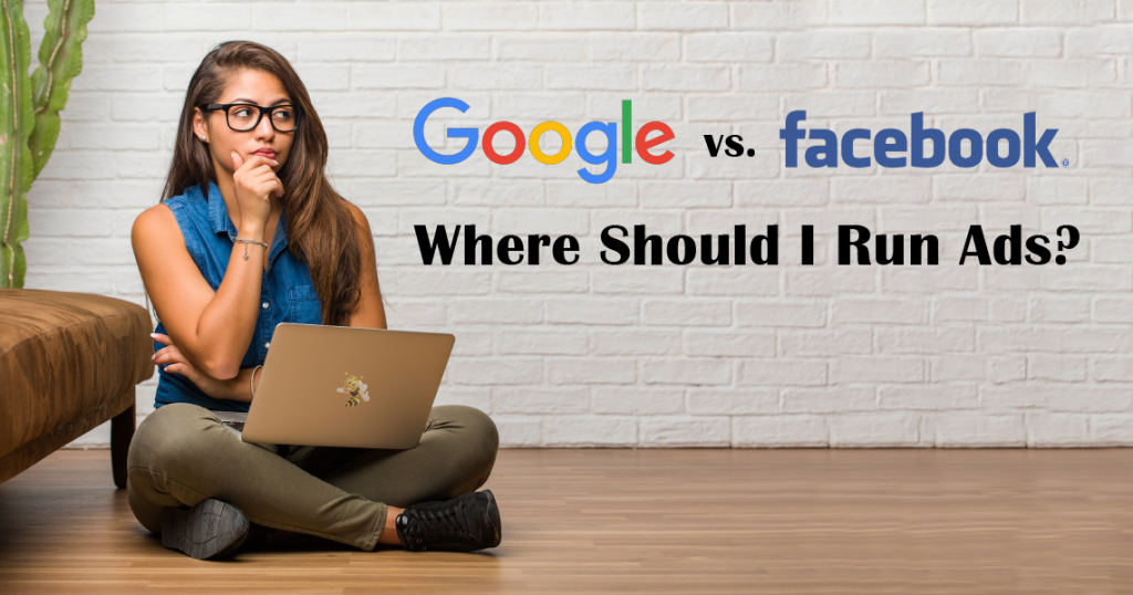 google vs facebook: where should i run ads header image